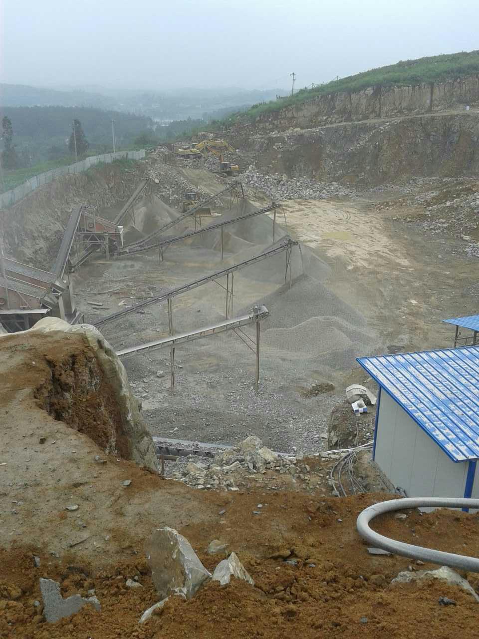 砂石厂大功率稳压器安装